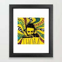Thom Yorke Nightmare Framed Art Print