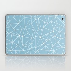 Abstraction Outline Sky Blue Laptop & iPad Skin