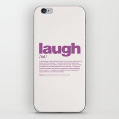 definition LLL - Laugh 11 iPhone & iPod Skin