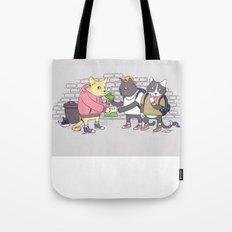 Meowy Wowy Tote Bag