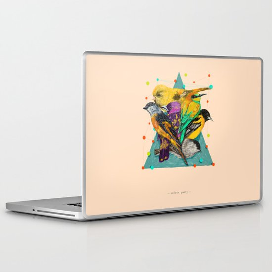 Colour Party Laptop & iPad Skin