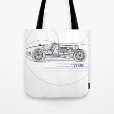 RennSport Speed Series: Type 51 Tote Bag
