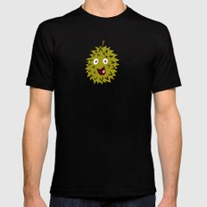 Durian Black SMALL Mens Fitted Tee