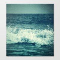 The Sea II. (Sea Monster… Canvas Print