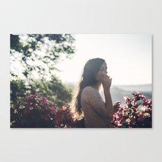 dont bring me flowers Canvas Print