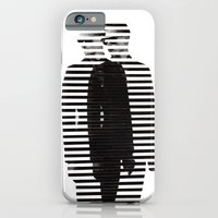 iPhone & iPod Case featuring Deconstruction IV (Thin Man) by Stefan Volatile-Wood