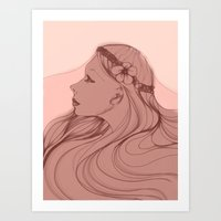 The Bride Art Print