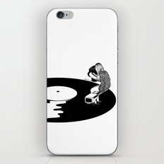 Don't Just Listen, Feel It iPhone & iPod Skin