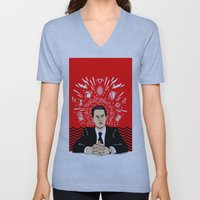Twin Peaks: Dale Cooper's Thoughts Unisex V-Neck