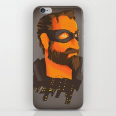 THE CITY HERO iPhone & iPod Skin