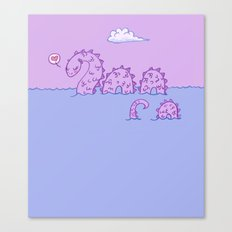 Little Nessie Canvas Print