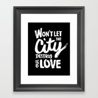 This City Framed Art Print