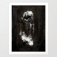 Trudge Art Print