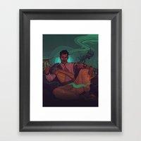 DORIAN Framed Art Print