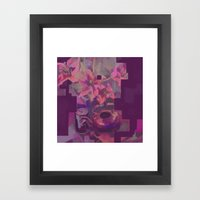 Four Lillies Framed Art Print