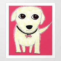 Bichon Bolognese Dog Art Print