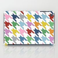 Houndstooth Colour iPad Case