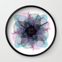 Devil's Flower Wall Clock