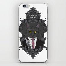 American Psycho Kitty iPhone & iPod Skin