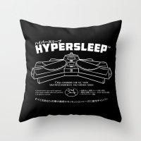Hypersleep Throw Pillow