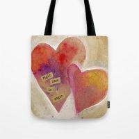 Jenn's Valentine Tote Bag