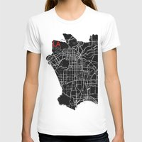 Los Angeles 1934 Womens Fitted Tee White SMALL