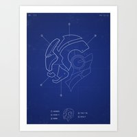 Heroes Are Built Art Print