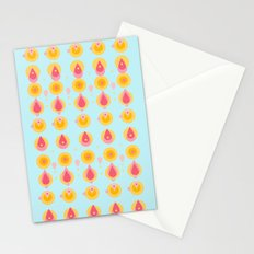 pineapple & ice cream Stationery Cards