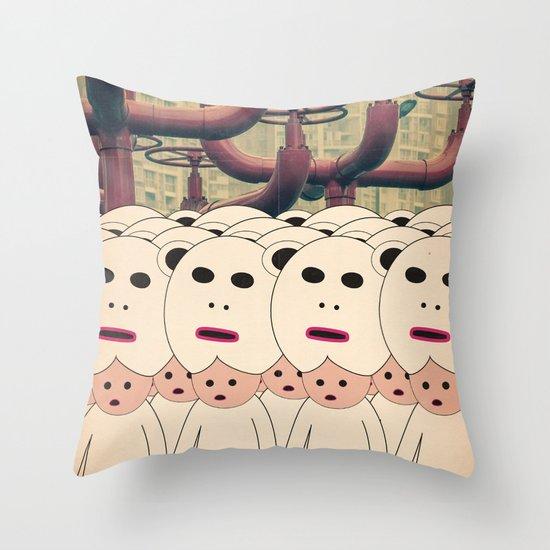 t r e t i p i d i t e s t e Throw Pillow
