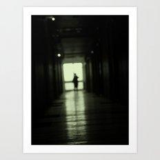 Blur play Art Print