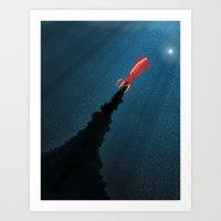Octonaut Art Print