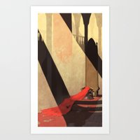 Lamentation Of A Widowed… Art Print