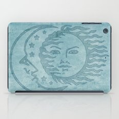 Sun Moon And Stars Batik iPad Case