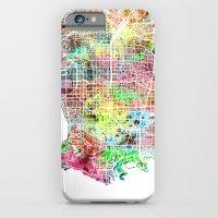 Los Angeles Map Californ… iPhone 6 Slim Case