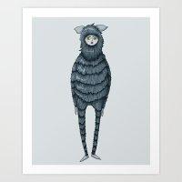 Kazia Monster Illustration Art Print