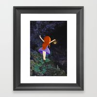 What's In The Dark? Framed Art Print