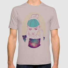 GRIMES Mens Fitted Tee Cinder SMALL