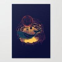Swift Migration Canvas Print
