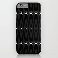 Black pattern Slim Case iPhone 6s
