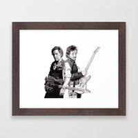 Bruce & Bruce Framed Art Print