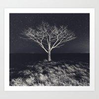 Branching Into The Stars Art Print
