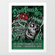 Deathpunkfest 2011 Art Print