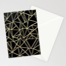 Ab Gold and Silver Stationery Cards