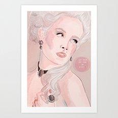 Marie Antoinette (Let Them Eat Cake) Art Print