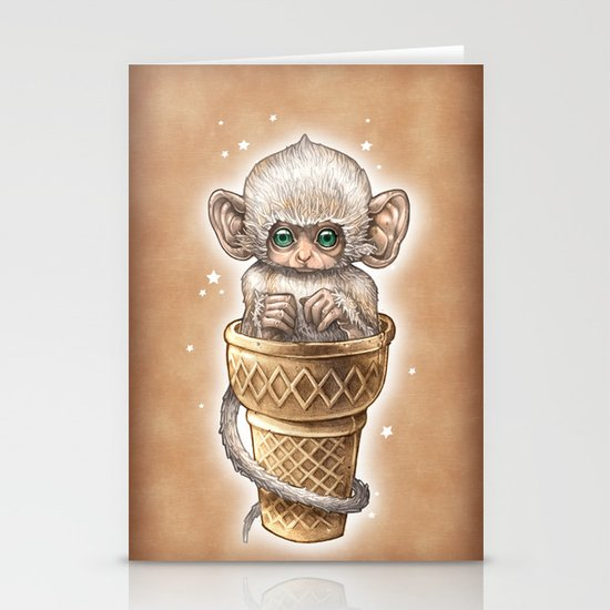 Soft Serve Stationery Card