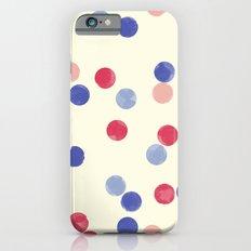 WATERCOLOR CONFETTI iPhone 6s Slim Case