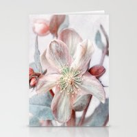 winter blossom Stationery Cards