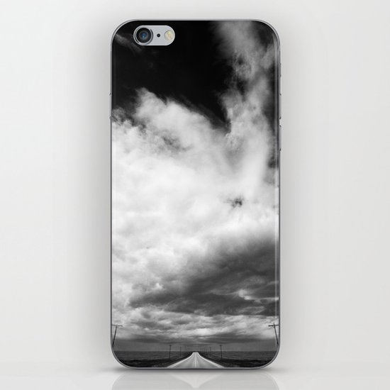 Stormy Road iPhone & iPod Skin