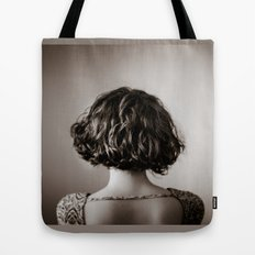 look away. Tote Bag