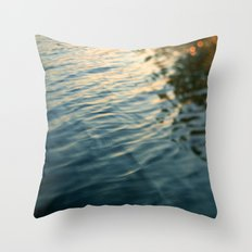 Tiger's Eye Throw Pillow